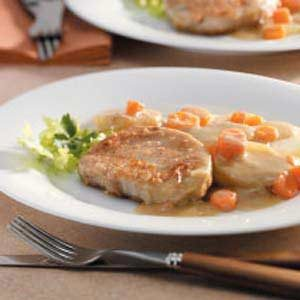 Creamy Pork Chop Dinner Recipe
