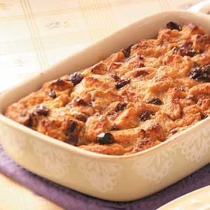 Cinnamon-Raisin Bread Pudding Recipe