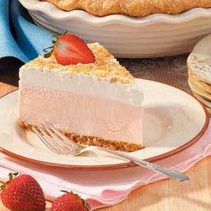 Strawberry Ice Cream Dessert Recipe