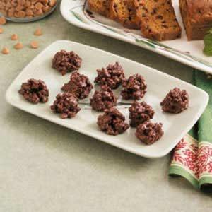 Crunchy Fudge Drops Recipe