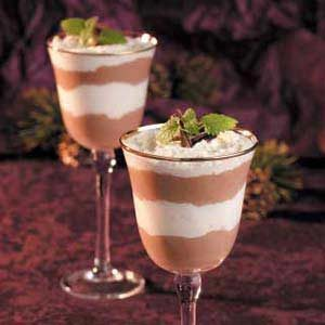 Chocolate-Caramel Mousse Parfaits Recipe