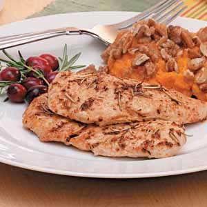 Herbed Turkey Breast Tenderloins Recipe