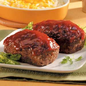 Mom's Meat Loaf for 2 Recipe