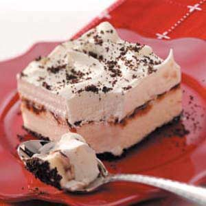 Frozen Yogurt Cookie Dessert