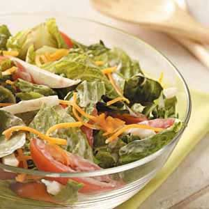 Jicama Romaine Salad Recipe