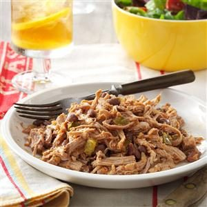 Shredded Pork with Beans Recipe