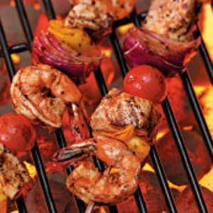 Swordfish Shrimp Kabobs