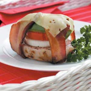 Grilled Veggie Pork Bundles Recipe