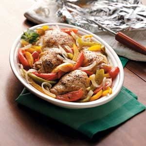 Grilled Chicken Veggie Dinner Recipe