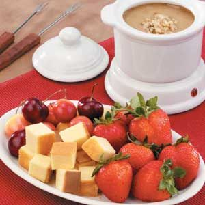 Maple Walnut Fondue Recipe