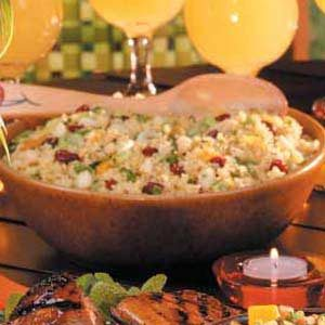Macadamia Citrus Couscous Recipe