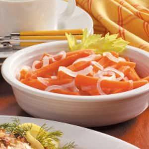 Julienned Carrots 'N' Onion Recipe