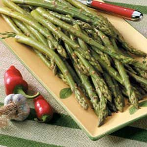 Spicy Asparagus Spears Recipe