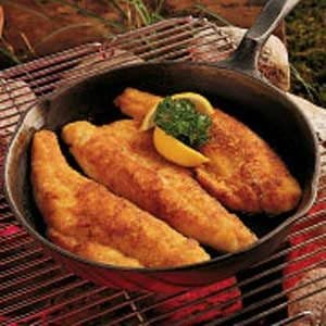 Honey Walleye Recipe