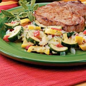 Spanish Squash Medley Recipe