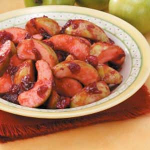 Cranberry Apple Saute