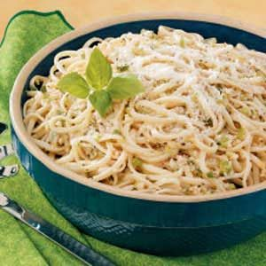 Ginger Garlic Linguine Recipe