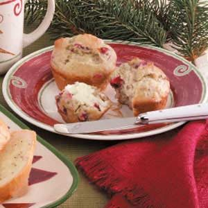 Banana Cranberry Muffins Recipe