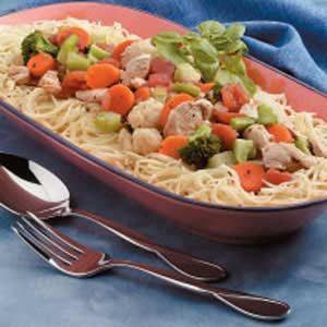 Colorful Chicken Pasta Recipe