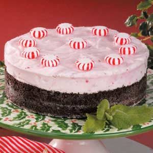 Frosty Peppermint Dessert Recipe