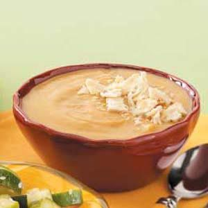 Butternut Squash Soup with Pecans Recipe