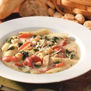 Florentine Chicken Soup Recipe