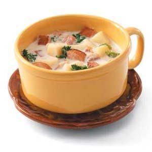 Kielbasa Potato Chowder Recipe