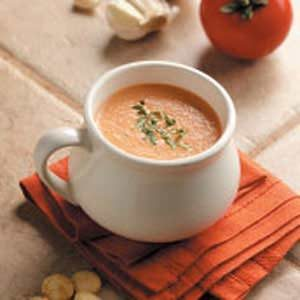 Garlic Tomato Soup Recipe