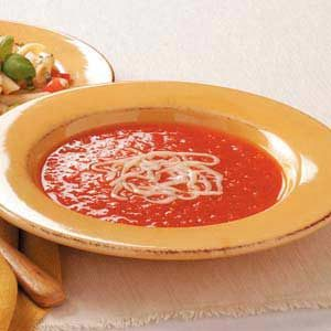Red Pepper Tomato Soup Recipe