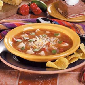 Southwest Chicken Tortilla Soup Recipe