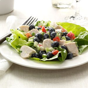 Blueberry Chicken Salad Recipe