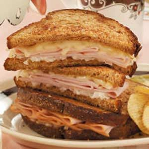 Turkey Dijon Melts Recipe