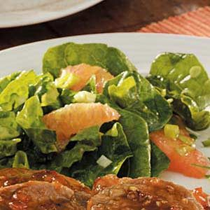 Grapefruit Spinach Salad Recipe