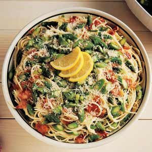 Asparagus Spaghetti Recipe