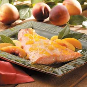 Peach-Glazed Salmon Recipe