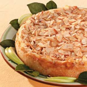 Almond Apple Cheesecake Recipe