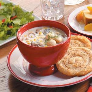 Oyster Corn Chowder Recipe