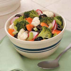 Crunchy Marinated Vegetables Recipe