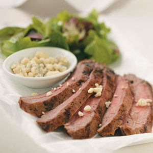 Blue Cheese Flank Steak Recipe