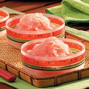 Watermelon Sorbet Recipe