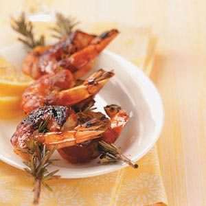 Shrimp on Rosemary Skewers Recipe