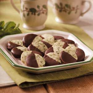 Delicate Mint Thins Recipe