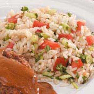 Tomato Rice Pilaf Recipe photo by Taste of Home