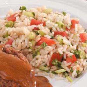 Tomato Rice Pilaf Recipe