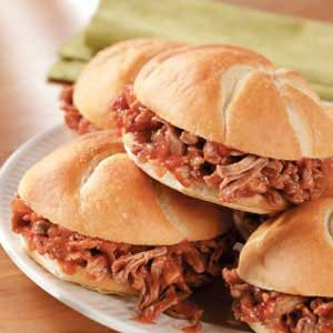 Shredded Pork Sandwich