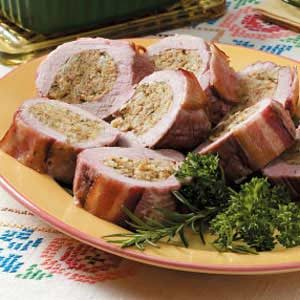 Tender Stuffed Pork Tenderloin Recipe