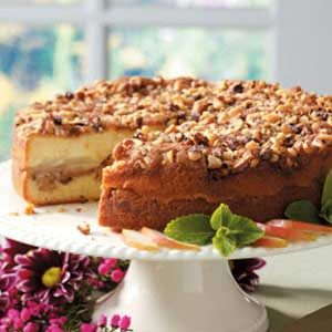 Walnut Pear Coffee Cake Recipe
