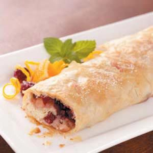 Caramelized Pear Strudel Recipe