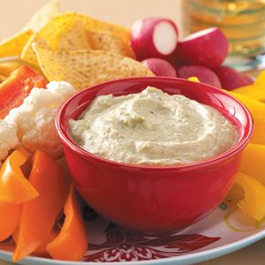 Snappy Asparagus Dip Recipe