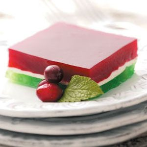 Festive Fruit Gelatin Recipe